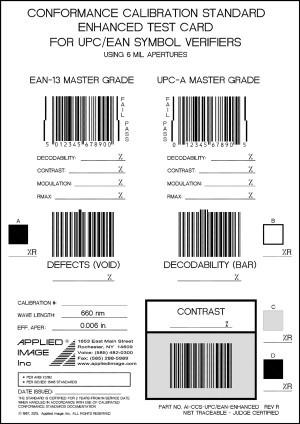 INTEGRA 95xx Modelle Test Card